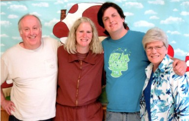 Brother-in-Law John, Me, Nephew John, Mom Pat