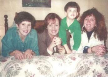 Myself, Sister Mimi, my nephew John, Sister Karen
